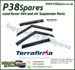 Land Rover Discovery 2 Terrafirma Wind Deflectors (Set of 4)
