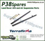 Land Rover Defender 90 Terrafirma Pair of Rock Sliders/Side Protection Bars Without Tree Bars (Fits Left & Right)
