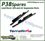 Land Rover Discovery 1 (5-Door) Terrafirma Pair of Rock Sliders/Side Protection Bars Without Tree Bars (Fits Left & Right)