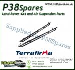 Land Rover Defender 130 Terrafirma Pair of Rock Sliders/Side Protection Bars With Tree Bars (Fits Left & Right)