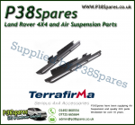 Land Rover Discovery 1 (3-Door) Terrafirma Pair of Rock Sliders/Side Protection Bars With Tree Bars (Fits Left & Right)