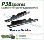 Land Rover Discovery 2 Terrafirma Pair of Rock Sliders/Side Protection Bars With Tree Bars (Fits Left & Right)