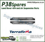 Land Rover Discovery 3 Terrafirma Pair of Rock Sliders/Side Protection Bars With Tree Bars (Fits Left & Right)