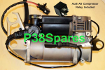 Audi A8 D3 4E (6-8 Cylinder)  Petrol Air Suspension Compressor Pump 02-10