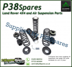 Arnott Range Rover L322 MKIII (excl supercharged) Coil Spring Conversion Kit W/EBM 2002-2005
