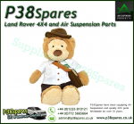 Land Rover Soft and cuddly Adventure Bear